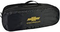 Сумка-органайзер в багажник Chevrolet чорна розмір 50х18х18 см, фото 1