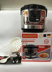 Мультиварка Banoo BN-7001 6 л 1500W 12 программ с йогуртницей и хлебопечкой