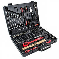 Профессиональный набор инструмента 1/2' & 1/4' 72 ед. INTERTOOL ET-6073