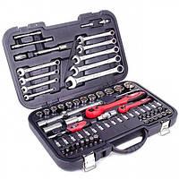 Профессиональный набор инструментов 1/2' & 1/4'; 82 ед INTERTOOL ET-6082
