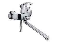 Смеситель для ванной  носик 35 см Haiba Mars euro