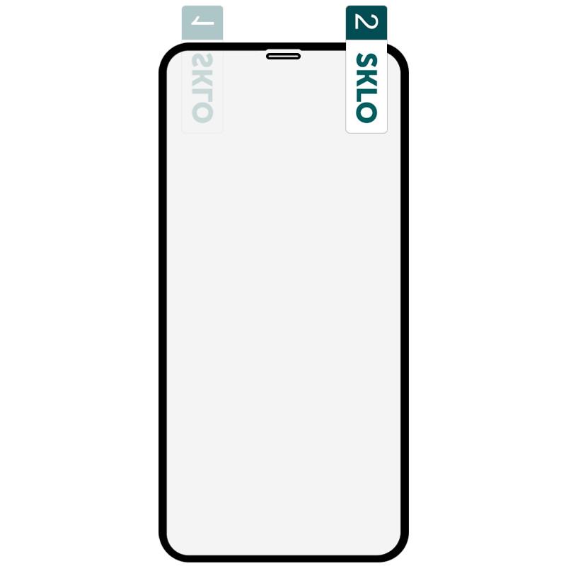 """Гибкое защитное стекло SKLO Nano (тех.пак) для Apple iPhone 11 Pro / X / XS (5.8"""")"""