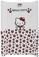 624503 Пеленальный матрас Maltex мягкий 50х80 см  hello kitty, белый