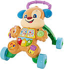 Fisher-Price Ходунки толкатель щенок  Laugh & Learn Smart Stages Learn with Puppy Walker, фото 2