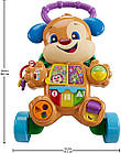 Fisher-Price Ходунки толкатель щенок  Laugh & Learn Smart Stages Learn with Puppy Walker, фото 3