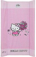 624519 Пеленальный матрас Maltex мягкий 50х80 см  hello kitty, розовый