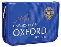 """532250 Пенал твердый 1Вересня одинарный без клапана HP-02 """"Oxford"""", фото 1"""