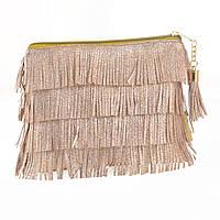 532716 Пенал-косметичка YES  «Charm», золотая, фото 1