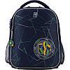 K20-555S-2 Рюкзак школьный каркасный KITE 2020 Education Football 555S-2