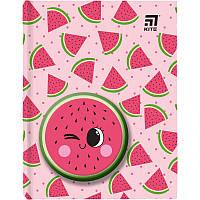 K20-285-4 Блокнот KITE 2020 Watermelon 285-4, сквиш, А6, 80 листов, точка
