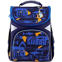 GO20-5001S-15 Рюкзак GoPack 2020 Education каркасный 5001-15 Shark, фото 1