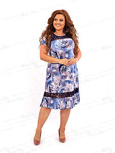 Повседневное женское платье 466-2 56