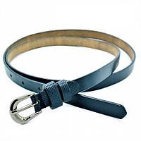 Женский кожаный ремень Weatro Тёмно-синий nwzh-15k-46, фото 1