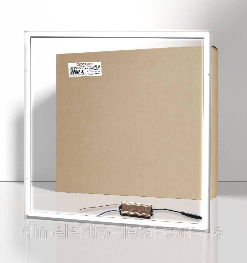 Светильник светодиодная панель EVROLIGHT PANEL-ART-50 6400K 4000Лм