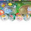 RUS Мяч 5,5см BT-JB-0044 попрыгунчик свет + рыбка 12шт.в кор./192/