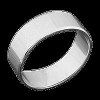 Серебряное обручальное кольцо 17