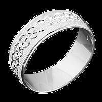 Серебряное обручальное кольцо 15