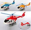 Вертолет 3588 (240шт) 30см, заводной, ездит, подвижные лопасти, 3цвета, в кульке,18-30-6,5см