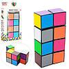 Игра 9908 (120шт) логическая, кубики, в кор-ке, 7-13-2,5см