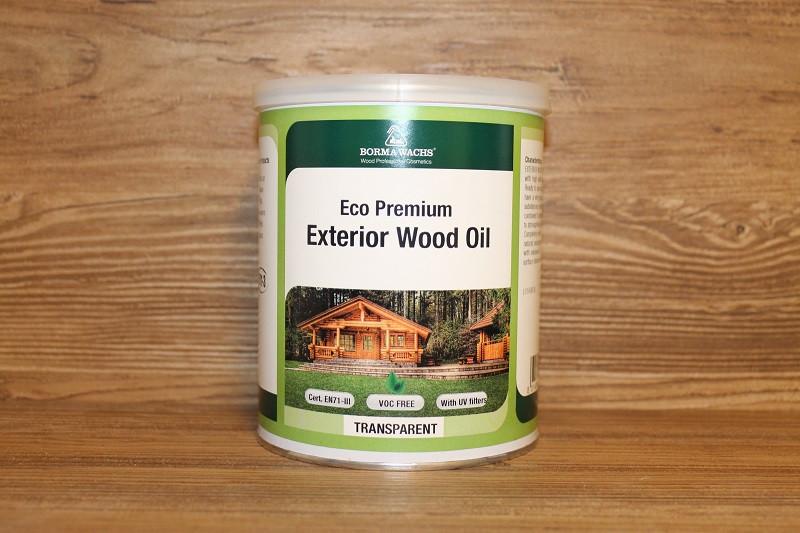 Экстерьерное масло, Eco premium Exterior Wood Oil