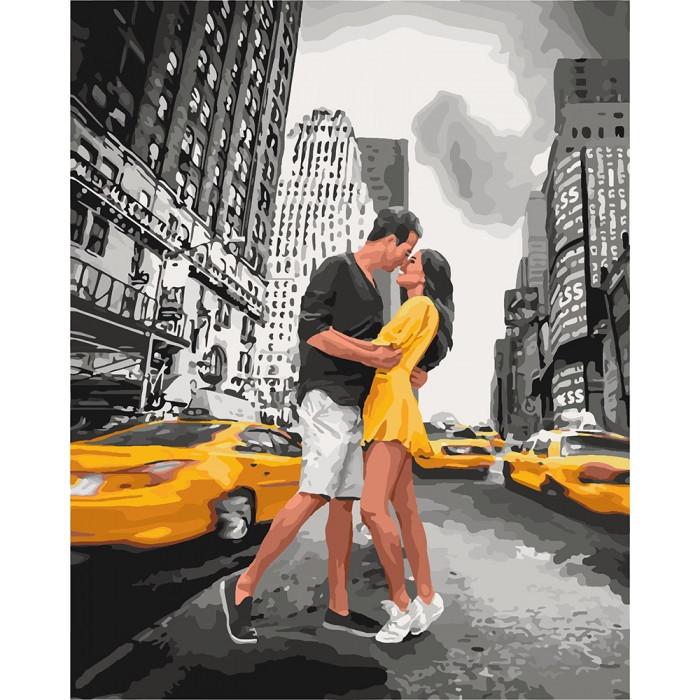 """Картина за номерами.""""П'янкий поцілунок"""" 40*50см KHO4664"""