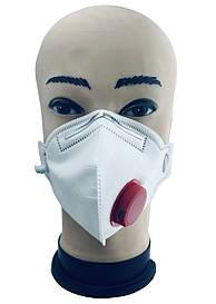 Маска-противовирусный медицинский респиратор Hion FFP3 степень защиты N99