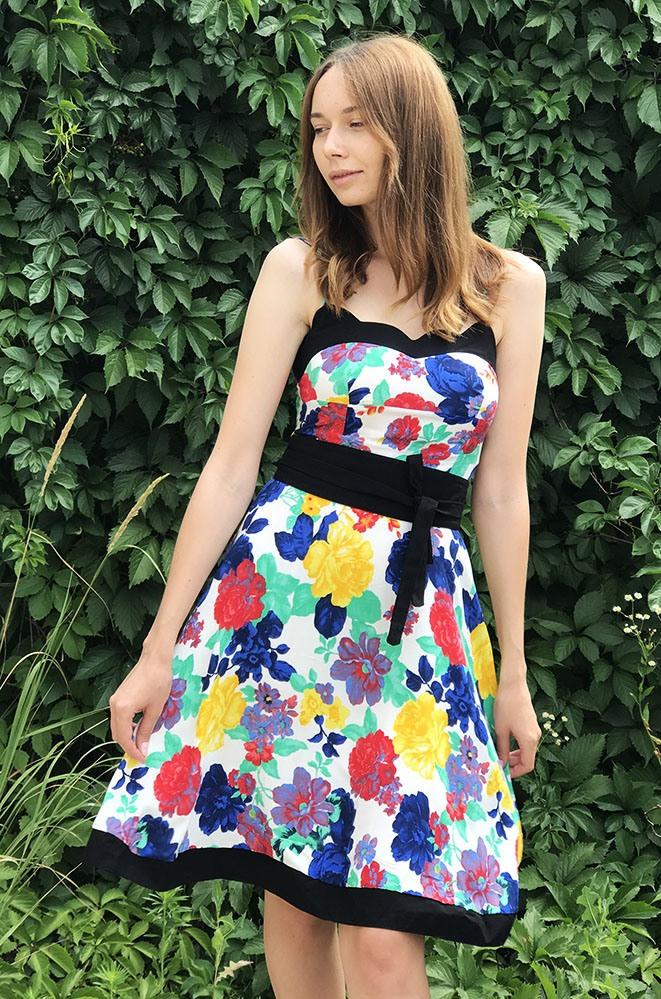 Платье женское белое AAA 12607/1