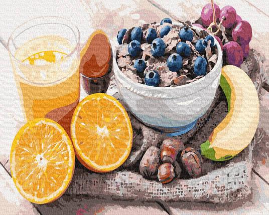 Картина по Номерам Разнообразный завтрак 40х50см RainbowArt, фото 2