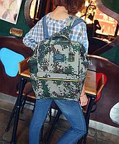 Каркасний трансформер сумка-рюкзак Кольоровий, фото 3