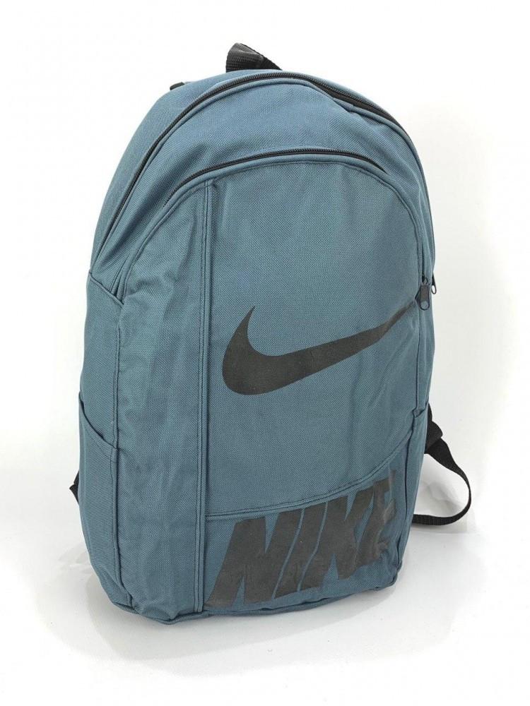 Рюкзак Серый  принт Nike черный