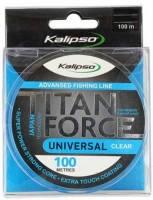 Леска Kalipso Titan Force Universal CL 100м 0.30мм