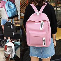 Молодежные тканевые рюкзаки Superhero для школы