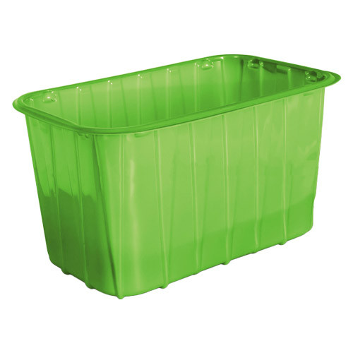Одноразовый контейнер для ягод ПП-701 - зеленый, 1 кг