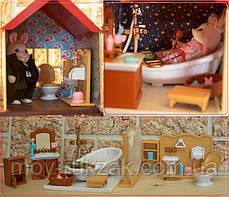 """Домик с мебелью HAPPY FAMILY для зверюшек, """"Загородный дом"""", 2 этажа, 65*34*17 см, 012-10, фото 3"""