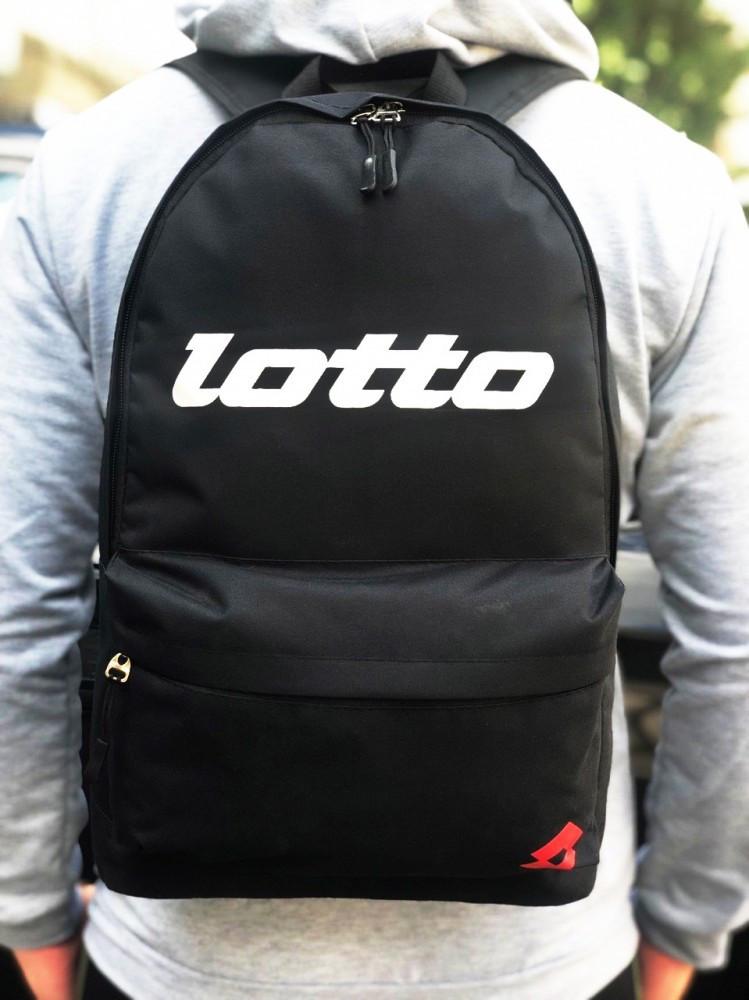 Рюкзак Lotto black