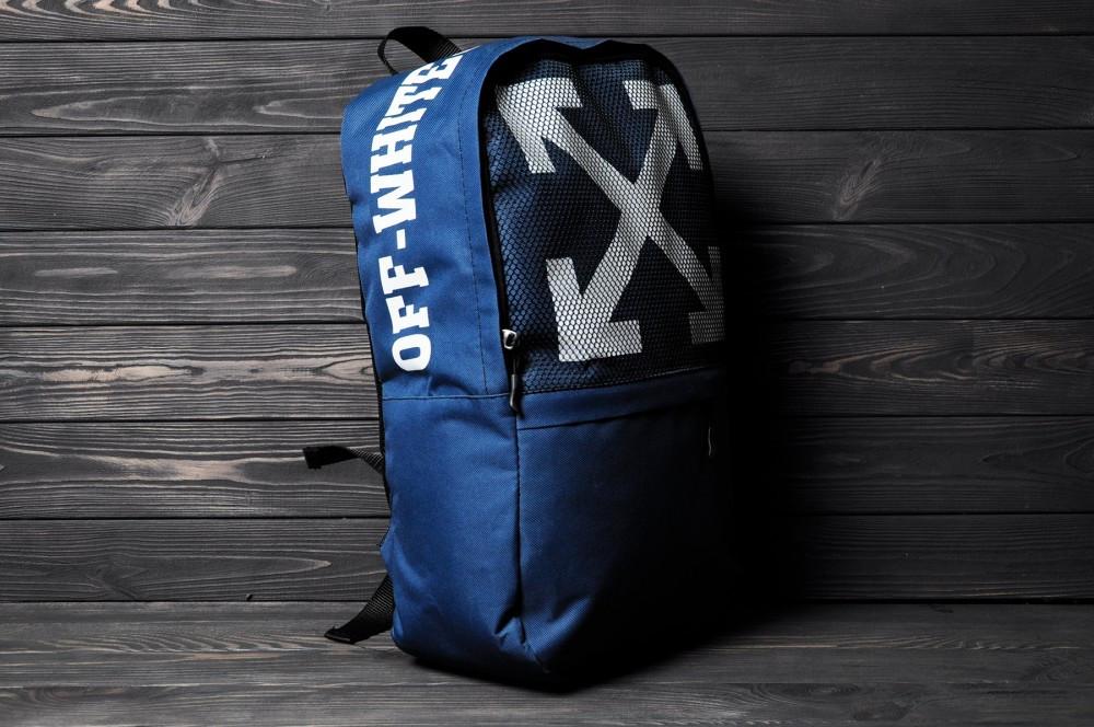 Рюкзак OFF WHITE синий