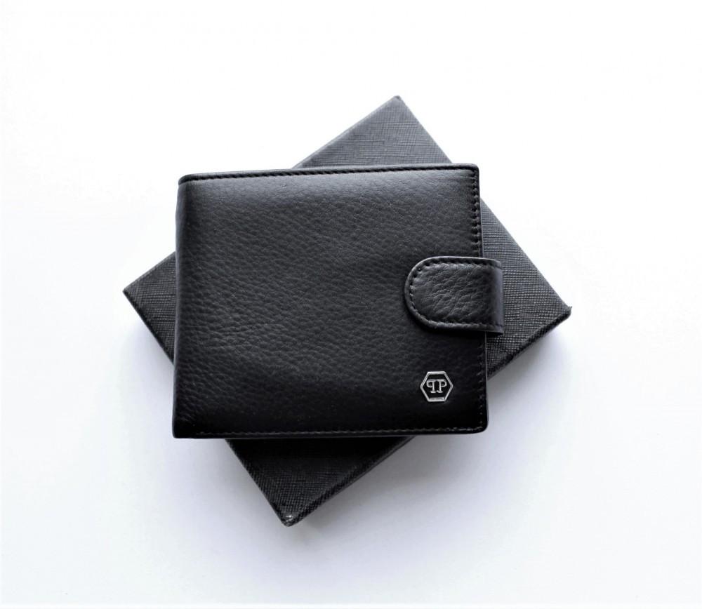 Мужской кошелек Philipp Plein 07 черный