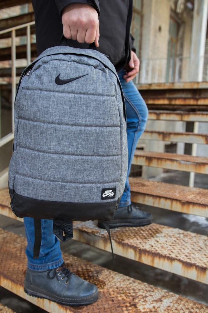 Рюкзак  Nike Серый меланж