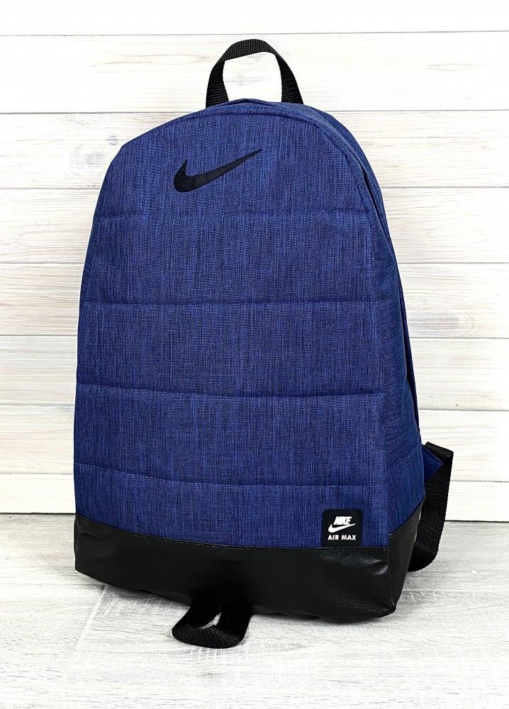 Рюкзак Nike AIR (Найк) синий (меланж)