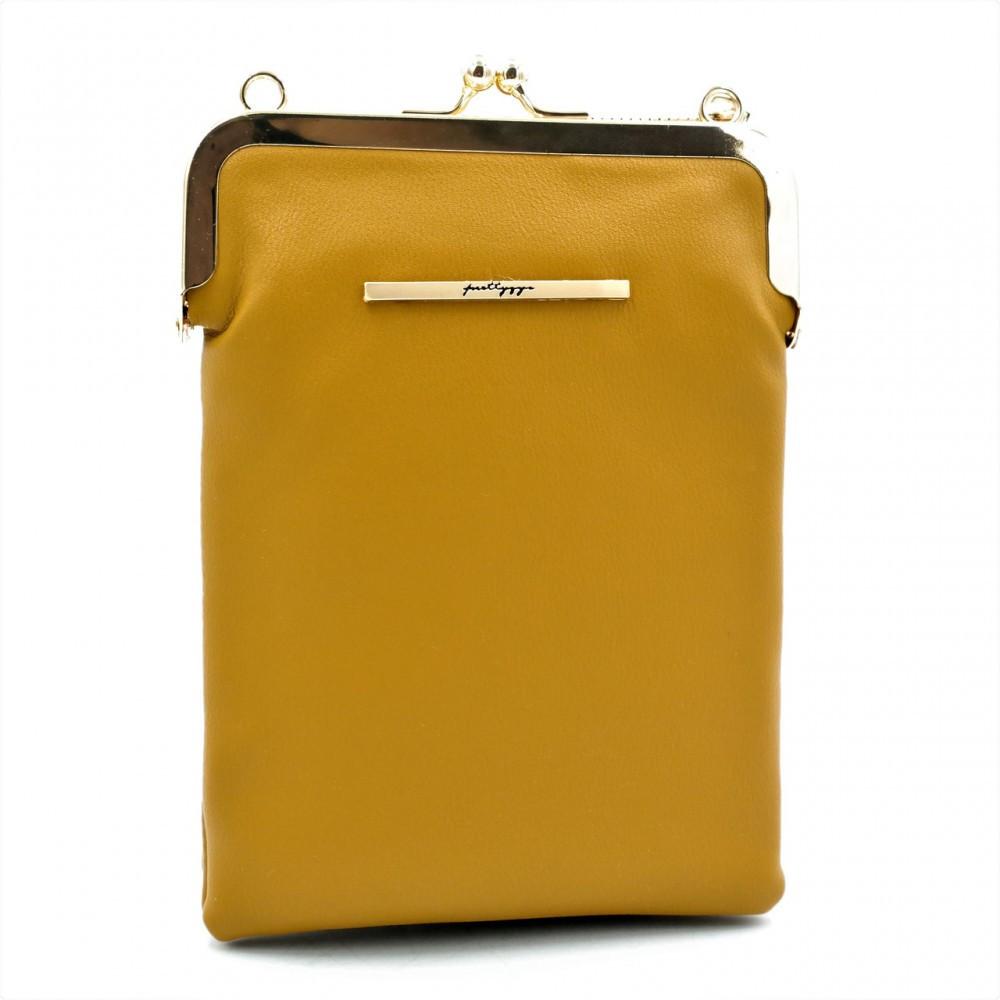 Кошелек-сумка на шею Weatro B106-3 Рыжий