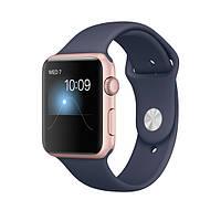 Ремешок Apple Sport Band для Apple Watch 38-40mm Midnight Blue (темно-синий)