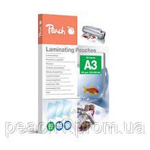 Пленка для ламинирования Peach А3 (303x426мм) - 80 мкм глянец, 25 шт