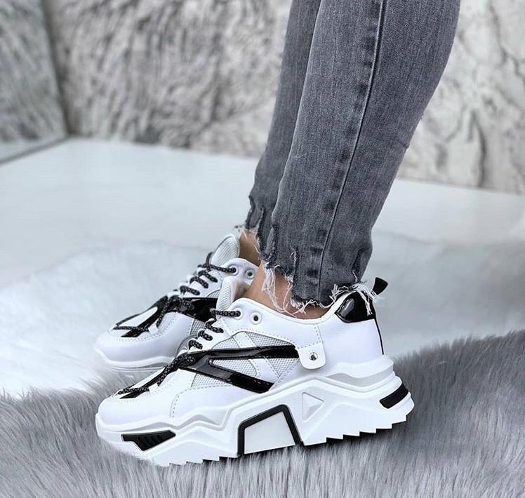 Кроссовки Veagia-ADA 2128-1 white-black