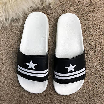 Givenchy Slide Sandal Star Black