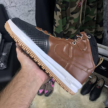 Nike Lunar Force 1 Duckboot Brown