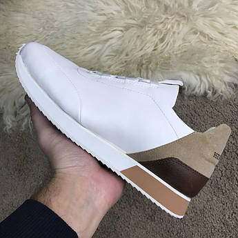 Hermes Miles Sneakers White/Beige