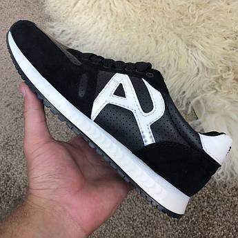 Emporio Armani AJ Sneakers Black/White
