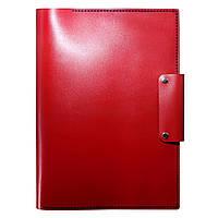 Женская кожаная папка для документов Anchor Stuff А4 Красная  КОД: as150104-0
