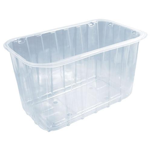 Одноразовый контейнер для ягод ПП-701 - прозрачный, 1 кг