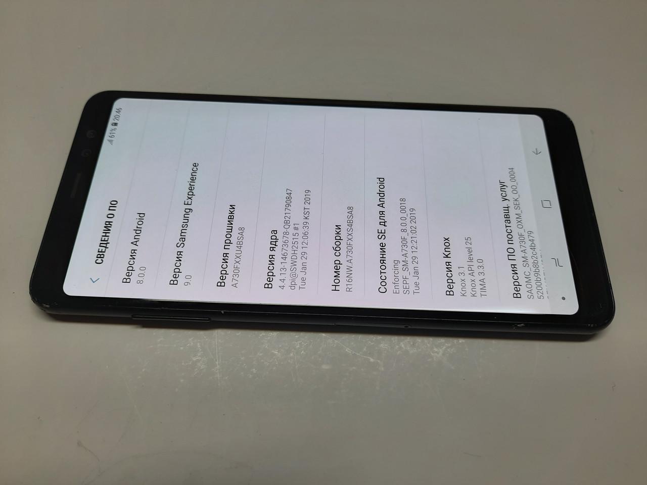 Samsung A8+ 2018 32gb (A730FZ) #66BP
